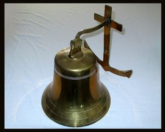 Large Brass Mountable Bell