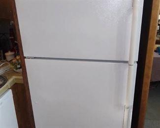 White Maytag Refrigerator