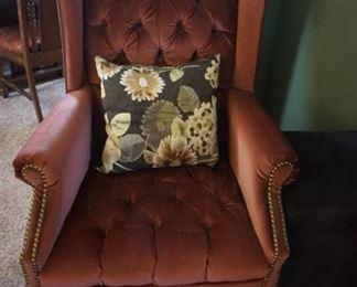 2nd wing chair
