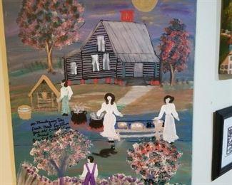 Annie Wellborn original painting