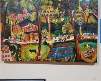 Sharon Eyers original painting