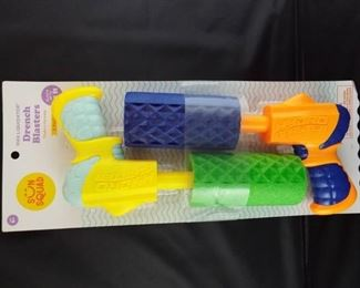 Sun squad drench blasters 2 pack.