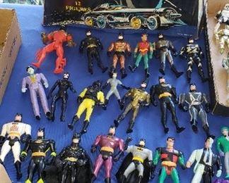 Batman and Robin Action figures
