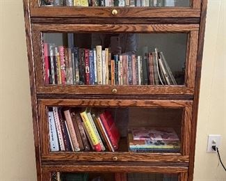 One of several barrister bookcases