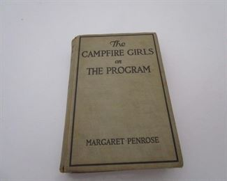 The Campfire Girls on The Program by Margaret Penrose