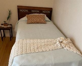 2 Matching Antique Twin Beds