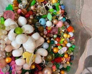 Vintage Beads. Too many to count :)