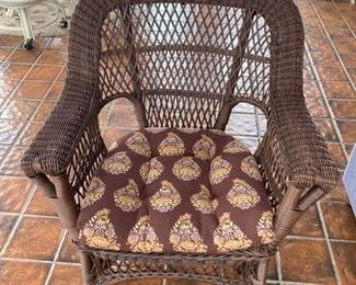84 Wicker Chair