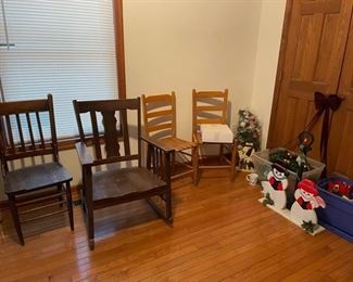 Vintage/antique chairs