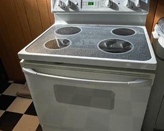 . . . a nice glass top stove