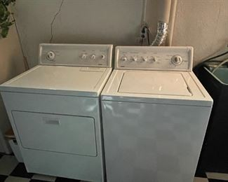 . . . a nice washer and drying set by Kenmore