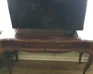 TV and Table - will sell separately