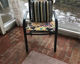 Chair in sunroom
