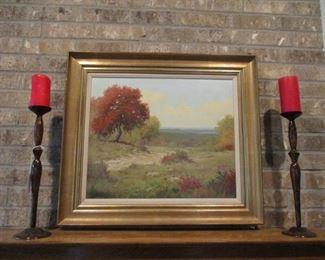 Palmer Chrisman, Hill country Landscape