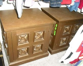 End/side table/cabinets