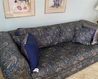 Large sofa with matching loveseat available.