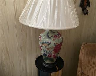Oriental lamp.