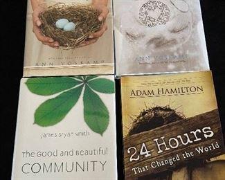 Hardback inspirational books - 4 shown for $15