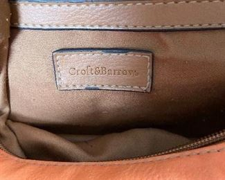 "Additional photo of purse tag ""Croft & Barrows"""
