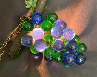 Additional photo of grape hanging light .
