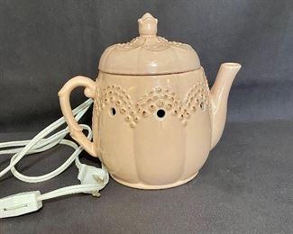 "Scentcy wax warmer ""Pink Teapot"" retired. $25"