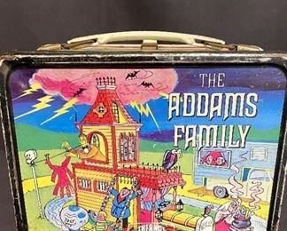 1974 Adams Family Lunchbox by King Seeley Thermos. See additional photos for condition. $45