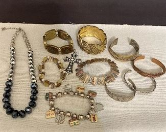 One lot of costume jewelry. All in good condition. (11) $20
