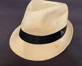 Fedora hat $4 (size 58)