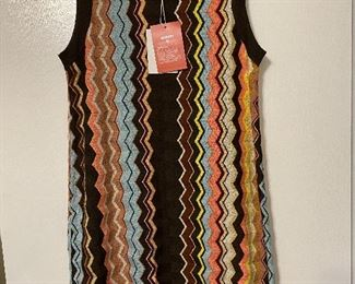 """New with tags """"Missoni"""" ladies knit dress, size Large. Target anniversary collection. $15"""