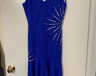 Sequined ladies dress. Size S.  Used for dance recital. $15