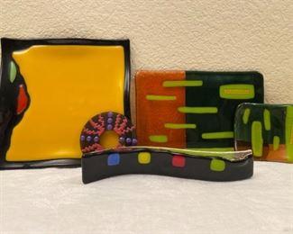 Colorful Vintage Glass Art