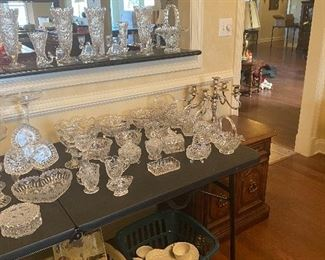 Lead glass and china!