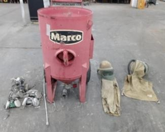 2008 Marco Sandblaster and accessories