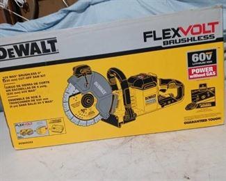 Dewalt Flexvolt Brushless Cut-off Saw kit