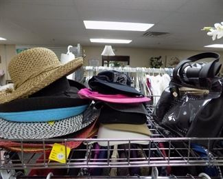 WOMEN'S SUMMER HATS AND VISORS