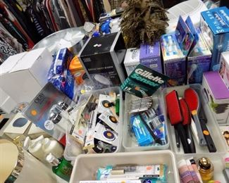 LOTS OF TOILETRIES AND MAKEUP