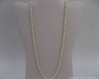 Strand of Freshwater Pearls B