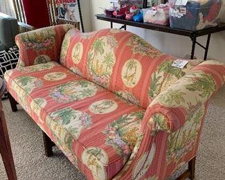 Jungle Print Small Sofa.