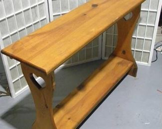 Country Cottage Console Table