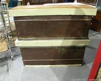 Rustic DIY Tin Counter
