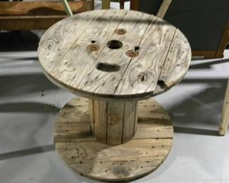 Wooden Spool Table