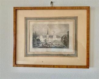 "$50 - Framed print #1 - 9.5"" H x 12"" W"
