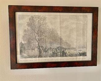 "$50 -Framed print #2 - 10"" H x 14.5"" W"