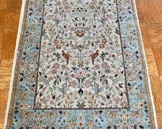 """$275 - Tabriz rug #2; 58"""" x 38.5"""""""