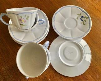 Longchamp bird teacups #1 detail