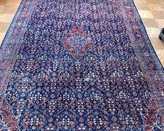 "$1,600 - Hand woven Senneh (Iran) rug; 9'1"" x 6'1"""