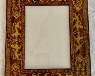 "$50 - Martin Aborn inlay frame - 10.5"" x 9"""