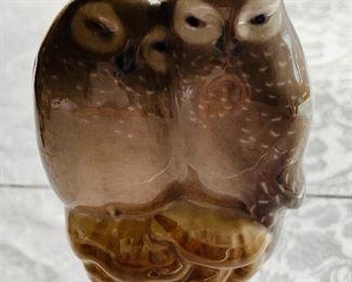 """$40 - Royal Copenhagen Owls #834; approx 4"""" (H)"""
