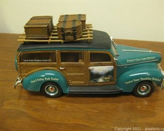 1940 Woody Die Cast 1 24 Scale Perfect Day Cabin Rentals