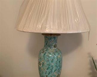 Asian Brass Lamp